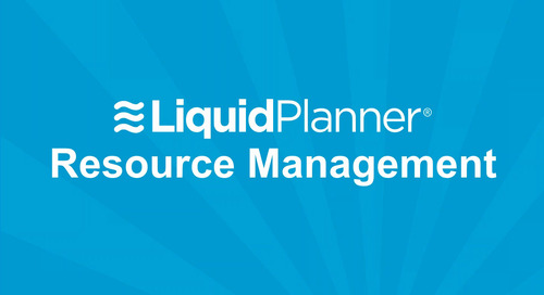 LiquidPlanner Resource Management