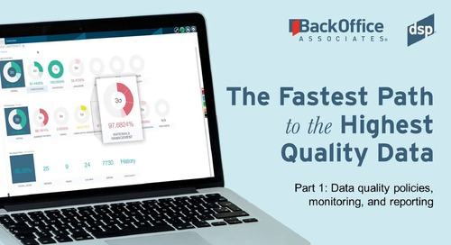 Fastest Path to High Quality Data with BackOffice Associates (1 of 3)