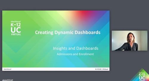 Creating Dynamic Dashboards