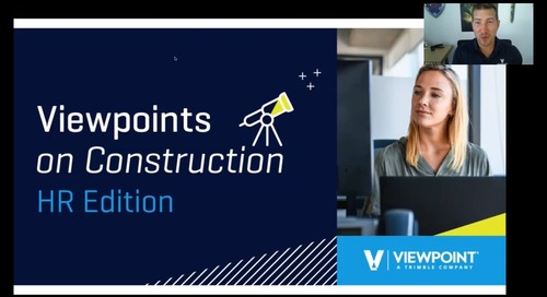 Viewpoints on Construction - HR Compliance and DEI