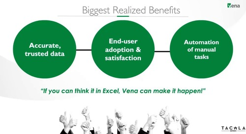 If It's In Excel, Vena Can Make it Happen