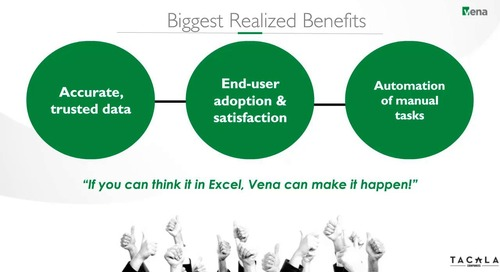 If It's In Excel, Vena Can Make it Happen