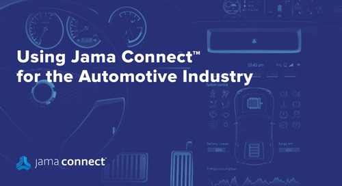 Jama Connect™ for Automotive