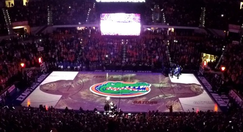 University of Florida Court Projection - Blog - A/V