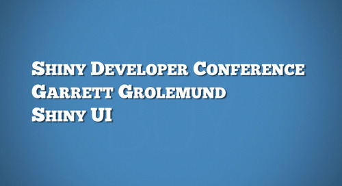 Shiny UI - Garrett Grolemund