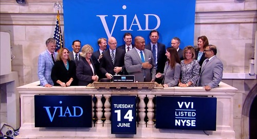 Viad Rings the NYSE Closing Bell