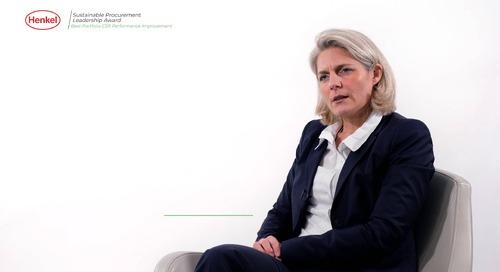 Henkel spricht über seine Ambitionen zur nachhaltigen Beschaffung