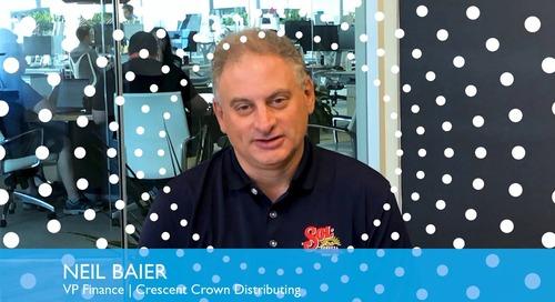 Customer Testimonial: Crescent Crown Distributing