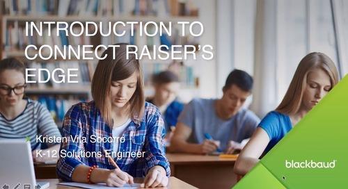 Connect Raiser's Edge Demo