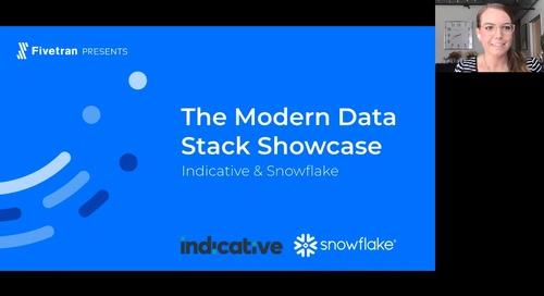 The Modern Data Stack Showcase: Indicative & Snowflake