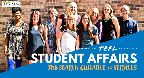 How Student Affairs Will Help You Find a Teaching Job Abroad
