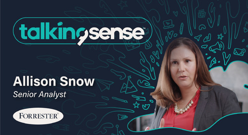 Breaking Through the Noise with Allison Snow - Senior Analyst for Forrester