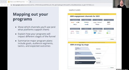 Build your ABM Plan in 3 Steps