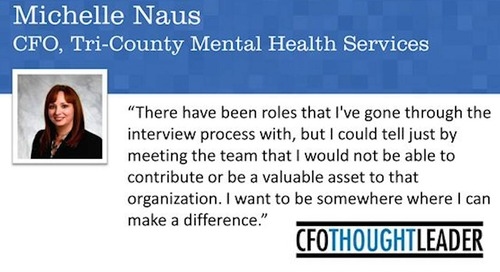 Making a Difference | Michelle Naus, CFO, Tri-County Mental Health Services