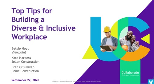 Top Tips for Building a Diverse & Inclusive Workplace - Industry Professional