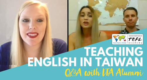 Teaching English in Taiwan - Alumni Q&A with Sandra & Aaron Wagner