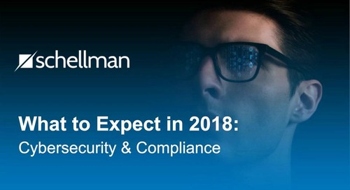 What to Expect in 2018: Cybersecurity & Compliance