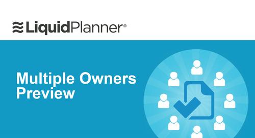 New Functionality Webinar - LiquidPlanner Multiple Owners