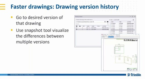 Tekla Software 2019 for Precast: What's new?