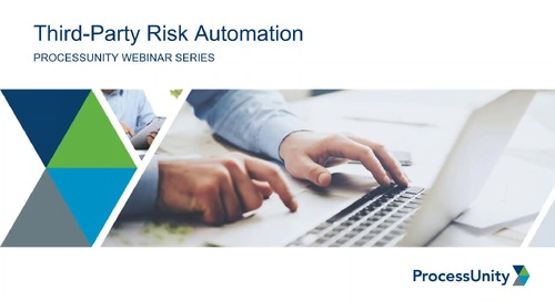 Webinar: Automate Your Third-Party Risk Management Program