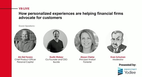 On-Demand Webinar: How Personalized Experiences are Helping Financial Firms Advocate for their Customers