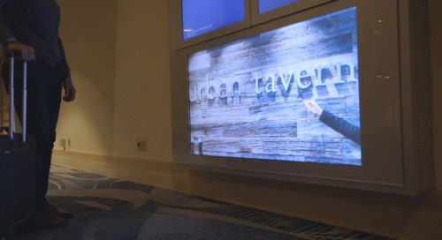 Watch how the Hilton Union Square Drives Revenue Through Cross-Promoting on its Digital Signs