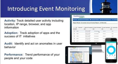 The Value of Salesforce Event Monitoring