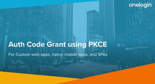 Authorization Code Grant Using PKCE (Proof Key for Code Exchange)