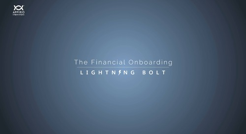 A Walkthrough of Appirio's Financial Onboarding Lightning Bolt