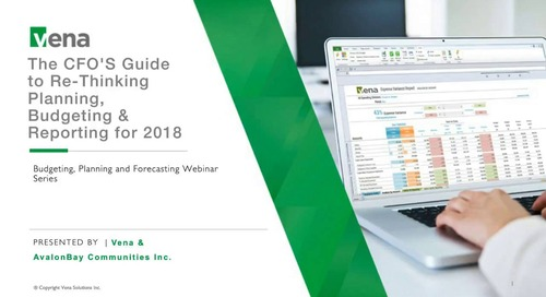 2017-10-31-Re-Thinking Planning, Budgeting and Reporting