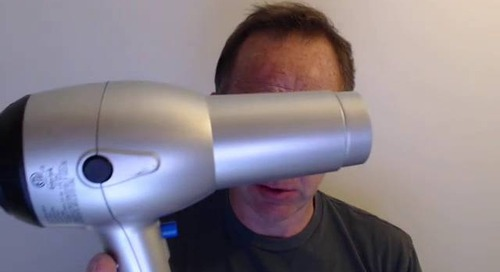 The Hairdryer Test without BlueJeans and Dolby Voice