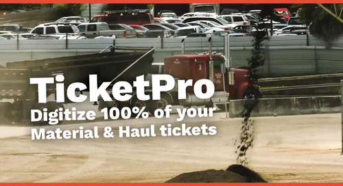 TicketPro | Digitize 100% of Your Material & Haul Tickets