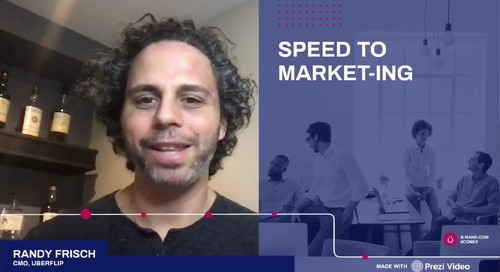 B2B Online Speed to Market-ing