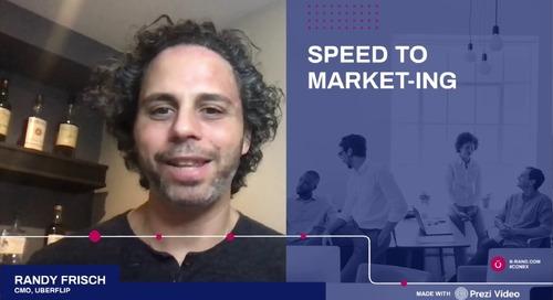 B2B Online Speed to Market-ing