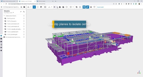 Tekla Structures 2020 to Trimble Connect Collaboration Overview