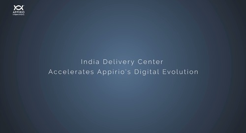 India Delivery Center Accelerates Appirio's Digital Evolution