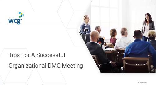 Tips For A Successful Organizational DMC Meeting