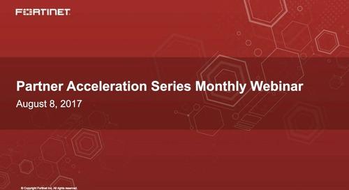 Partner Acceleration Series Webcast- August 2017
