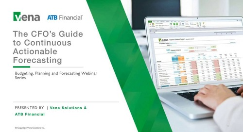 The CFO's Guide to Continuous, Actionable Forecasting