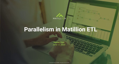 Tech Talk - Parallelism in Matillion ETL