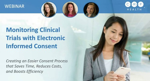 Monitoring Clinical Trials with Electronic Informed Consent