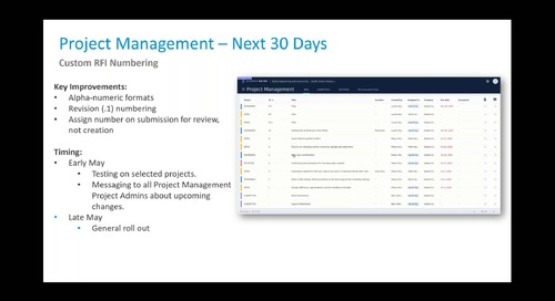 BIM 360: What's New & What's Next with the Product Team - April 2019