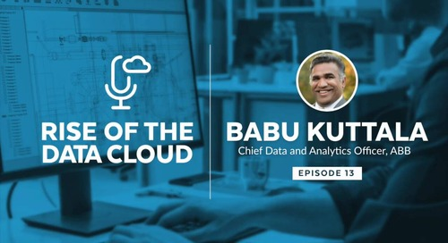Amplifying Your Digital Value Chain with Babu Kuttala, Chief Data and Analytics Officer of ABB
