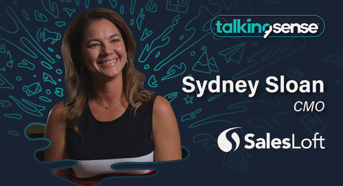 Delivering Personalization at Scale with Sydney Sloan, CMO of SalesLoft
