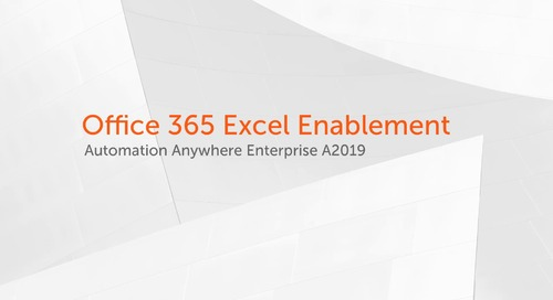 Office 365 Excel Enablement