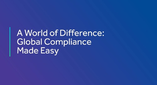 Global Compliance Made Easy