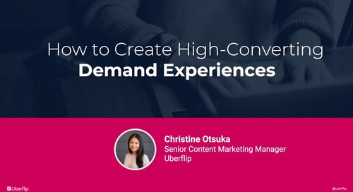 How to Create High-Converting Demand Experiences