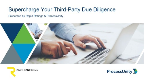 Supercharge Your Third-Party Due Diligence Process