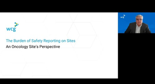 The Burden of Safety Reporting on Sites: An Oncology Site's Perspective