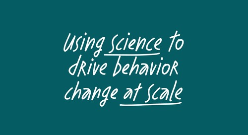 Using science to drive behavior change at scale, feat. Rod Hamilton
